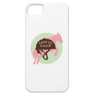 Love To Gallop iPhone 5 Cases