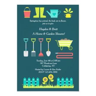 Love To Garden Lawn and Garden Shower Invitation