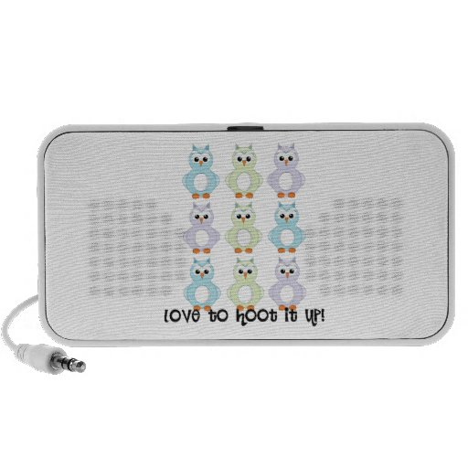 Love To Hoot It Up! iPhone Speakers