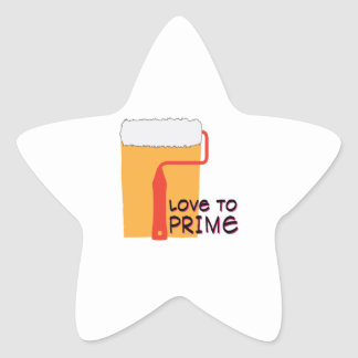 Love To Prime Star Stickers