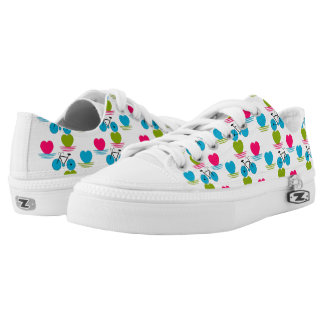 Love to ride printed shoes