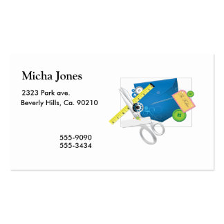 Love To Sew & Sew It Goes Pack Of Standard Business Cards