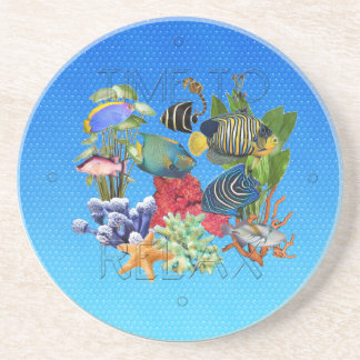 """Love to Snorkle"" Coaster"