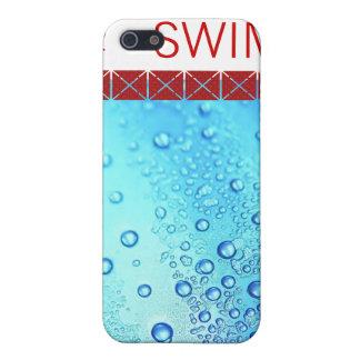 LOVE TO SWIM IPHONE COVER iPhone 5 CASES