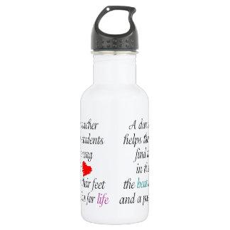 Love to Teach Dance 532 Ml Water Bottle