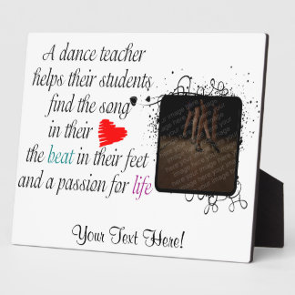 Love to Teach Dance Plaque