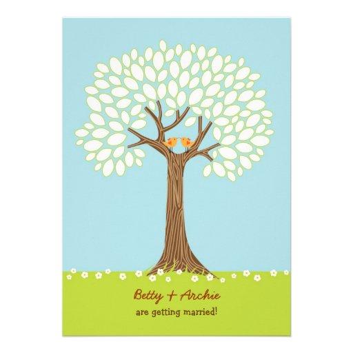 Love Tree (Day) Wedding Invitation