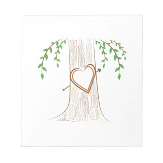 Love Tree Notepad