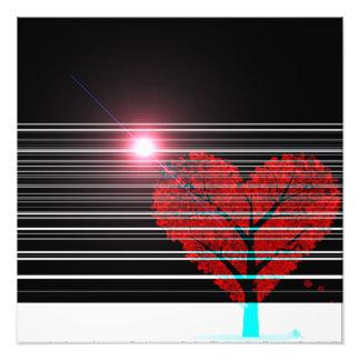 love tree photo print