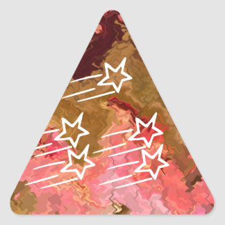Love Triangles and Snake Bites Triangle Sticker