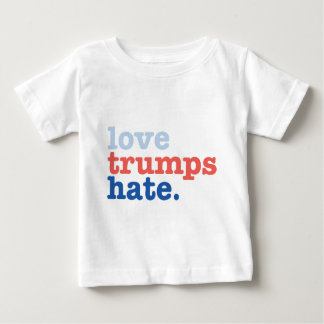 love trumps hate baby T-Shirt