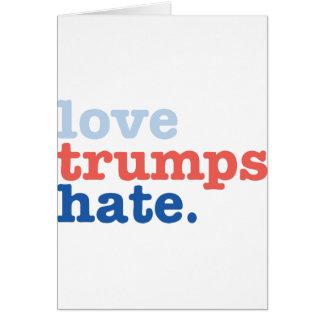 love trumps hate card