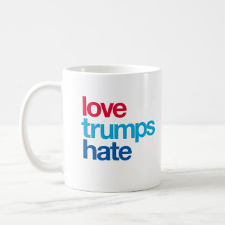 Love Trumps Hate Coffee Mug