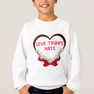 love trumps hate donald gift t shirt