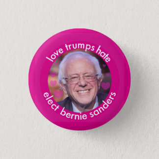 Love Trumps Hate (small) 3 Cm Round Badge