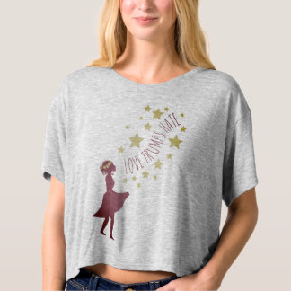 Love Trumps Hate Stars and Florals Shirt