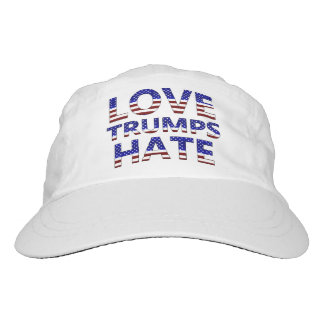 Love Trumps Hate Stars and Stripes Hat