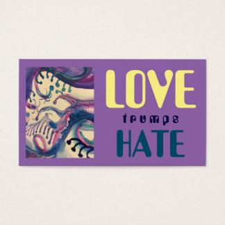 LOVE trumps HATE XVI Business Card