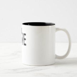 Love Two-Tone Coffee Mug