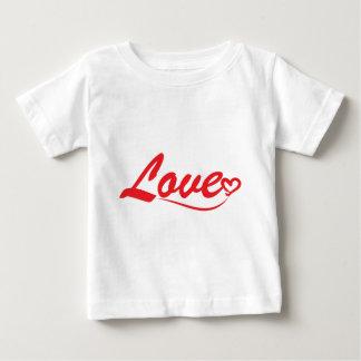 Love typography baby T-Shirt