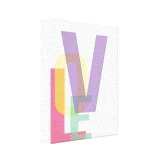 LOVE Typography Print