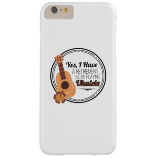 Love Ukelele Uke Music Lover Funny Gift Barely There iPhone 6 Plus Case