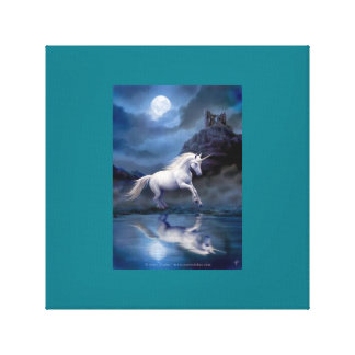 Love Unicorns Canvas Print