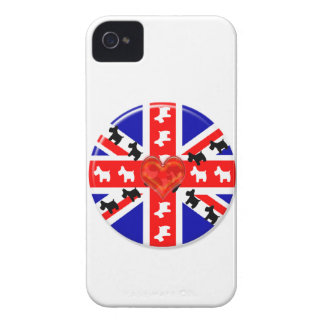 Love Union Jack iPhone 4 Cover