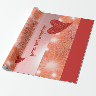 love,unique, glossy Wrapping Paper, colorful, Wrapping Paper
