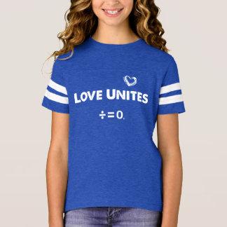 Love Unites Positive Unity Quote T-Shirt