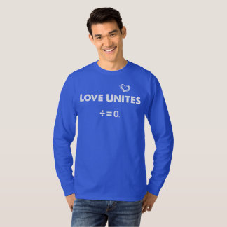 Love Unites Quote T-Shirt(Dark) T-Shirt