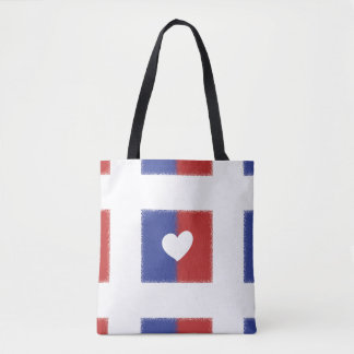 Love US All-Over-Print Tote Bag