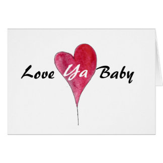 Love Valentine card, male female funny sexy Greeting Card