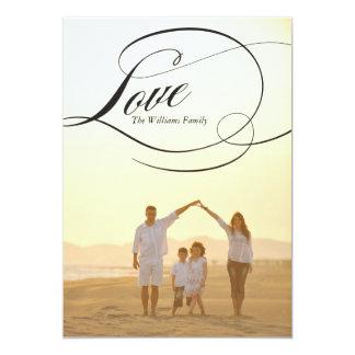 Love | Valentine's Day Cards 13 Cm X 18 Cm Invitation Card