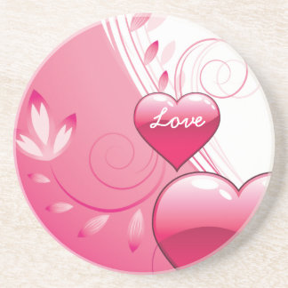 Love Valentine's Day coaster