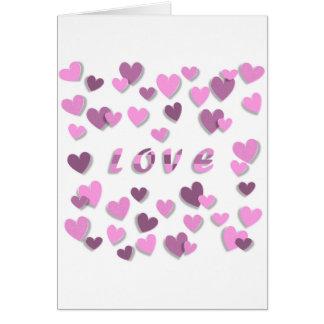 Love Valentine's Day Greeting Card