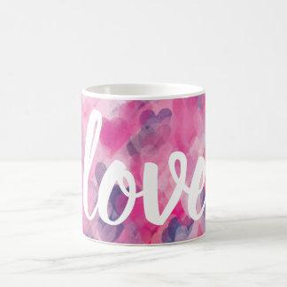 Love Valentine's Day Romance Heart Modern Chic Coffee Mug