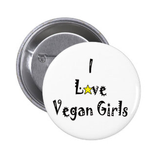 Love Vegans Button