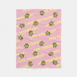 LOVE VEGETABLES!! - Pumpkin- Fleece Blanket