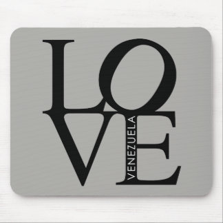Love Venezuela Mouse Pad