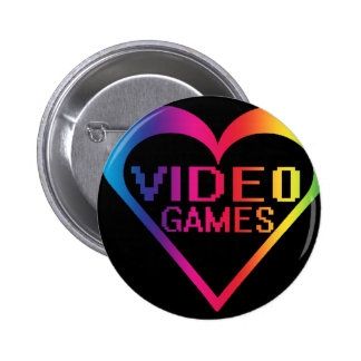 love video games buttons