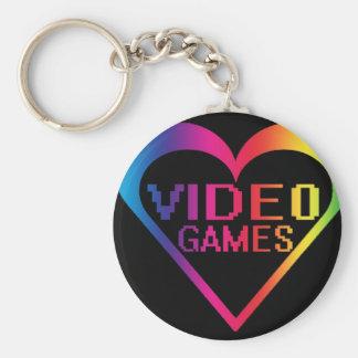love video games keychain