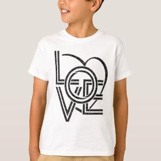 love vintage graphic design T-Shirt
