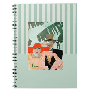 Love Vintage Style Valentine s Day Gift Notebook