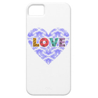 LOVE VIOLET CASE FOR THE iPhone 5