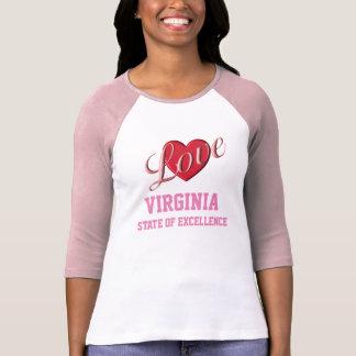 Love Virginia - women's T-shirt