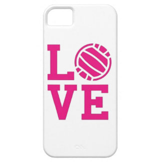 Love Volleyball phone case