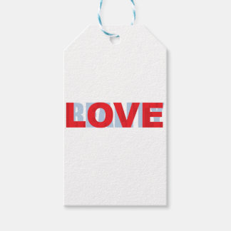 love vs reality gift tags