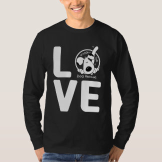 LOVE Waggin' Tails Dog Rescue T-Shirt
