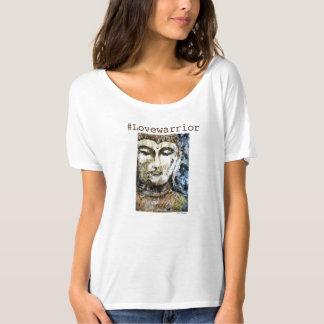 Love Warrior Buddha Art Flowy T-Shirt